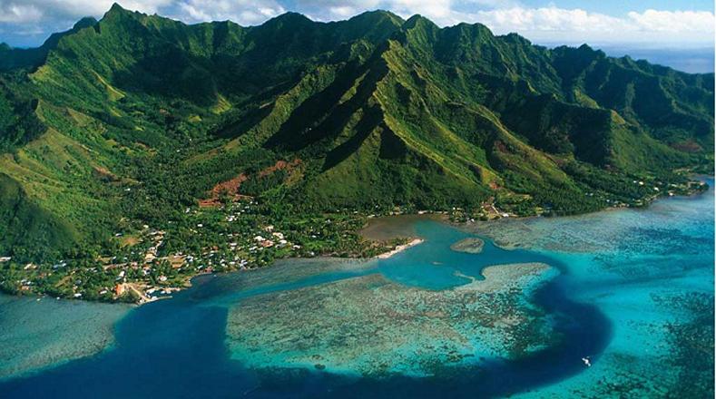 El Océano Pacífico es el mayor del planeta y se extiende desde las costas orientales de Asia hasta las occidentales de América.