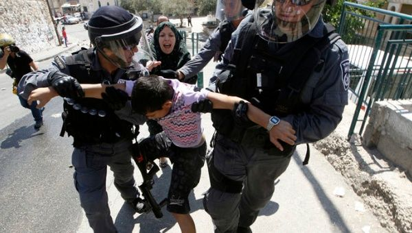Israeli authorities have detained an estimated 95,000 Palestinian children since occupying the West Bank in 1967.