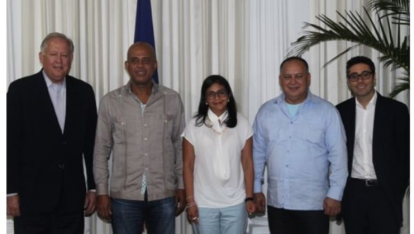 ticket haiti venezuela relationship