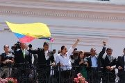 President Correa and other elected officials vowed to continue the reforms to make a more equitable and just country.