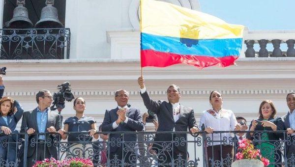 El mandatario ecuatoriano mantiene su llamado al diálogo
