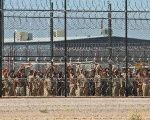 Detainees at the Eloy Detention Center near Tucson, Arizona.