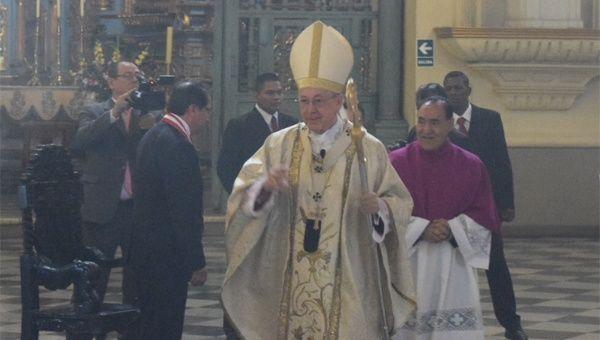 Juan Luis Cipriani, Cardinal of Peru and Archbishop of Lima
