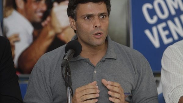 Image result for leopoldo lopez