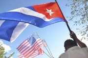 Cuba and the United States are due to exchange embassies soon, even while the blockade on the island remains in place.