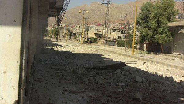 A general view of Zabadani July 22, 2012.