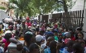 Thousands of Haitian-Dominicans line up to try to regularize their status.