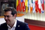 Greek leader Alexis Tsipras