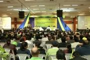 1,400 authorities met with President Rafael Correa to discuss the national dialogues (teleSUR)