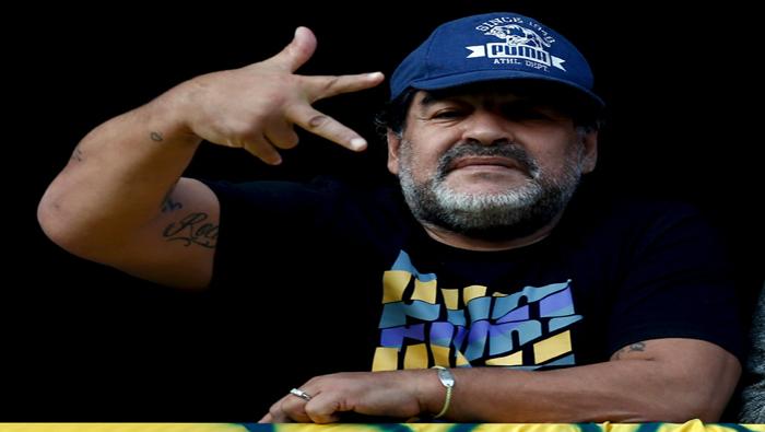 En su breve video, difundido por el propio Maradona, llamó al peronismo a unirse contra Macri.