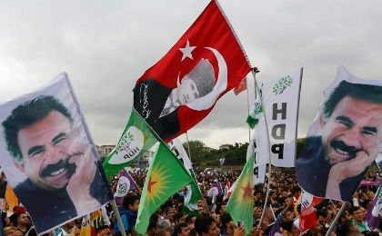 Supporters of the Pro-Kurdish Peoples