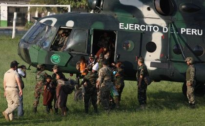 Rescue of captured people by Shining Path