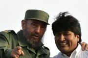 Evo Morales has often referred to the Cuban revolutionary as