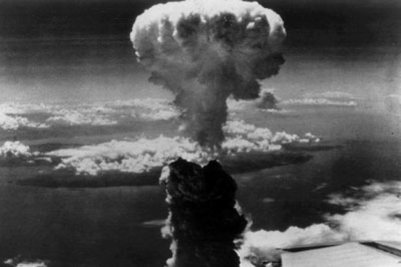 an analysis of the first atomic bomb dropped on hiroshima Footage from the air of atomic bomb blasts in hiroshima, then nagasaki (japan) in 1945 this effectively ended the war in the pacific even now, this.