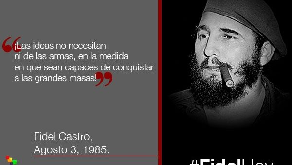 Fidel La Historia Lo Absolvió En Profundidad Telesur