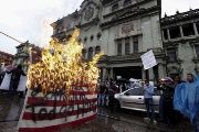 Guatemalans recently staged protests demanding the president's resignation and the U.S. ambassador to leave the country.