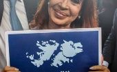 President Cristina Fernandez was the first head of state to support the campaign