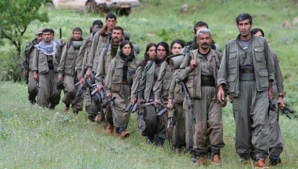 Kurdistan Workers Party (PKK) fighters