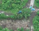 According to authorities, this road in Morona Santiago has caused irreversible environmental destruction (teleSUR)