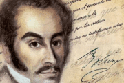 Latin American independence leader Simon Bolivar