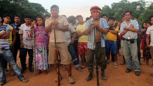 The Achuar Indigenous people are fed up with the pollution left behind by foreign oil companies.