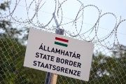 Hungary is building a 4-meter fence to seal its border with Serbia