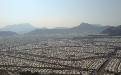 The tent city of Mina could house 3 million people.