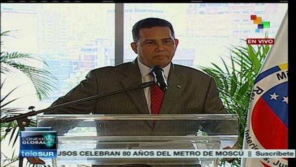 Olp permite desmantelar 87 bandas criminales en venezuela Quien es el ministro de interior y justicia