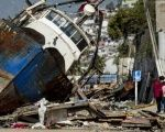 Some of the damage caused on Chile's coastal cities after the 8.3 magnitude earthquake Sept. 16, 2015.