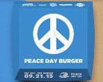 Burger King hoped the Peace Burger could help starving refugees.