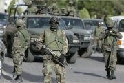 Over 50 Mexican army troops engaged in gun battle against local drug traffickers in the state of Jalisco.