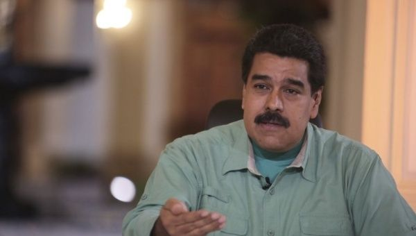 President Nicolas Maduro