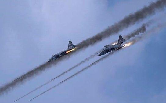 Resultado de imagen de Fuerza Aeroespacial de Rusia y el Ejército de Siria en las provincias de Idlib y Homs