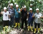 The Cuban Five visiting Lago Agrio, the site of a massive oil disaster in Ecuador's Amazon.