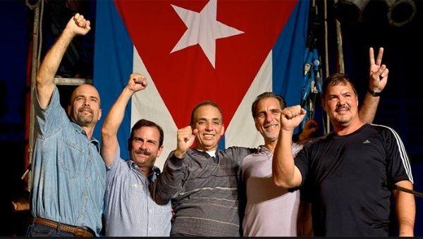 Resultado de imagen para los cinco heroes cubanos