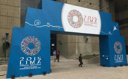 World Bank / IMF Annual Meeting in Lima 2015