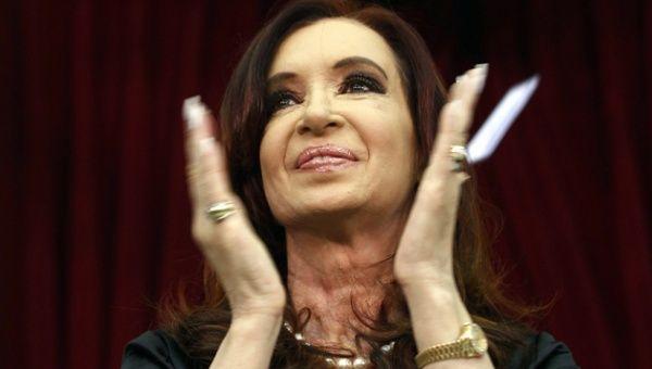 Presidenta argentina Cristina Fernandez.
