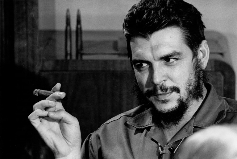 Che Guevara left Cuba in 1965 to fight for revolution in what is today called the Democratic Republic of Congo.