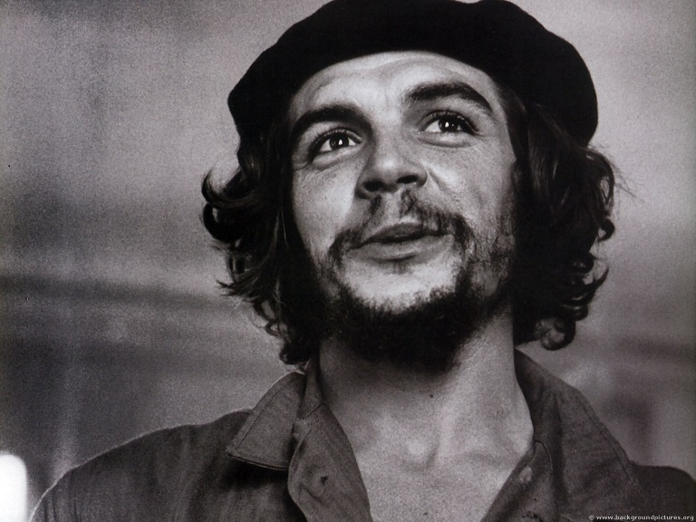 Che Guevara joined Fidel Castro in attempting to foment revolution in Cuba in 1956, arriving on a dilapidated yacht called Granma.