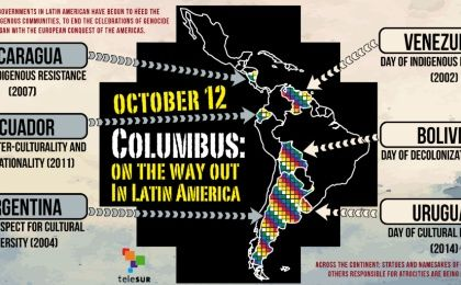 Columbus: On the Way Out in Latin America