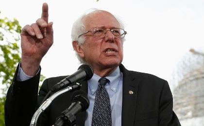 Democratic presidential hopeful Bernie Sanders has exceeded Barack Obama