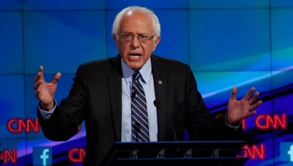 "Vermont Senator Bernie Sanders stressed he is ""not a pacifist"" at the Democratic debate on Oct. 13, 2015."