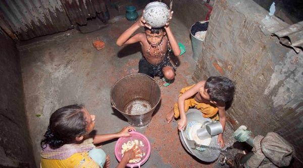Resultado de imagen para niños afectados por agua contaminada
