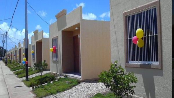 The Venezuelan government hopes to provide low cost housing to 40 percent of the population by the end of the decade.