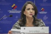 "Ecuadorean Vice Minister for Foreign Affairs Maria Landazuri said the country will replace its ""outdated, xenophobic and discriminatory"" migration laws, Oct. 21, 2015."