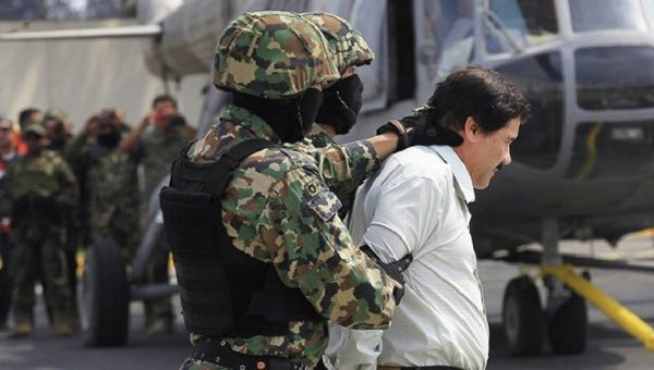 "The notorious Mexican drug lord Joaquin ""El Chapo"" Guzman was spotted with a girl, so special forces did not detain him."