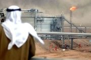 About 90 percent of Saudi Arabia's economy is from oil revenues.