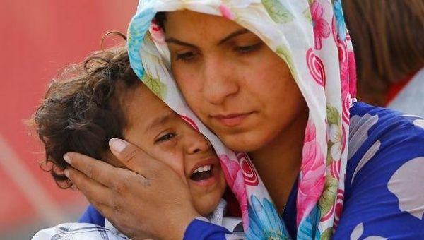 refugee crisis in UK , courtesy telesurtv