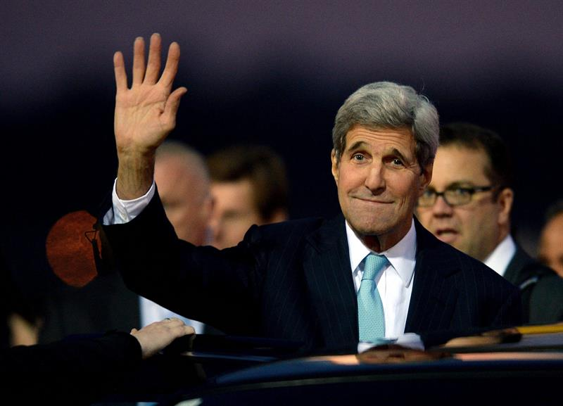Secretario de Estado norteamericano, John Kerry.