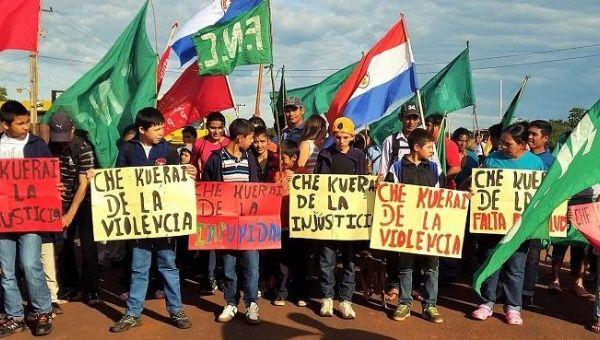 Paraguay: Köylüler Toprak Hakkı İçin Yürüdü